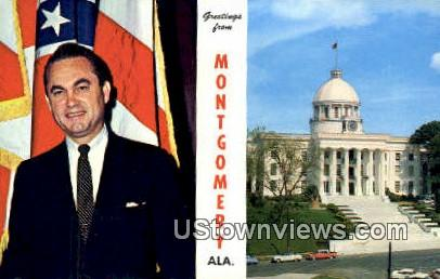 Alabama State Capitol - Montgomery Postcard