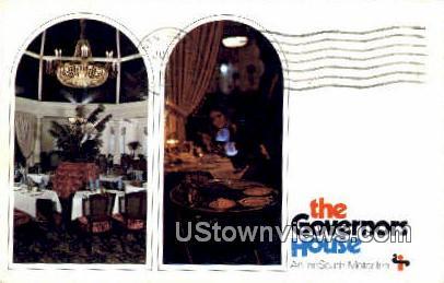Governors House - Montgomery, Alabama AL Postcard