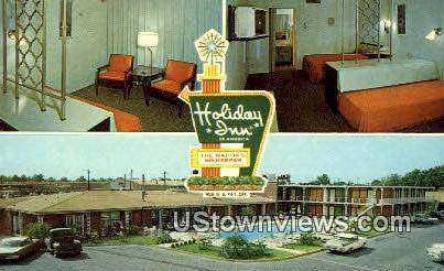Holiday Inn - Montgomery, Alabama AL Postcard