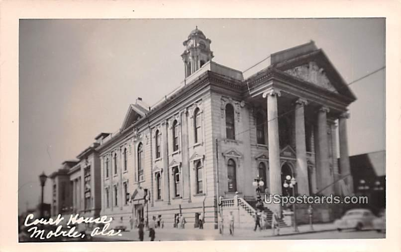 Court House - Mobile, Alabama AL Postcard