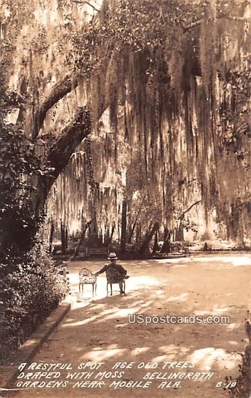 Restful Spot - Mobile, Alabama AL Postcard