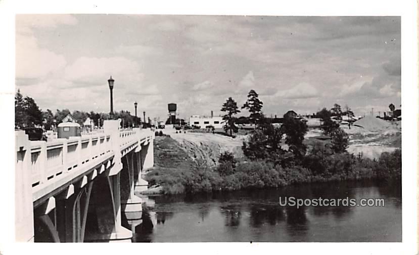 Bridge Scene - Misc, Alabama AL Postcard