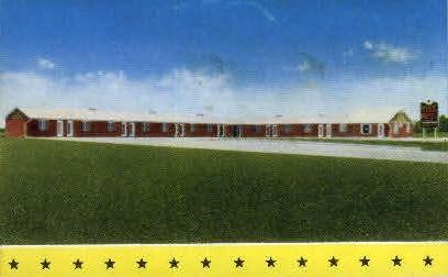 Blue Star Motel - Athens, Alabama AL Postcard