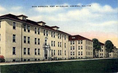 The Pines Motel - Alexander City, Alabama AL Postcard