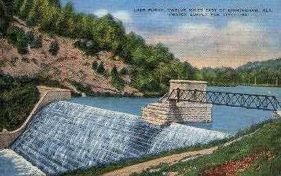 Lake Purdy - Birmingham, Alabama AL Postcard