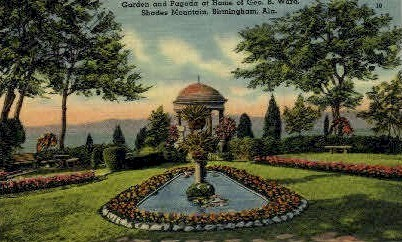 Home of Geo. B. Ward - Birmingham, Alabama AL Postcard