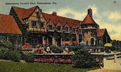 Birmingham Country Club - Alabama AL Postcard