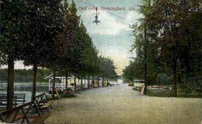 East Lake - Birmingham, Alabama AL Postcard