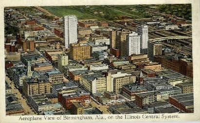 Birmingham - Alabama AL Postcard