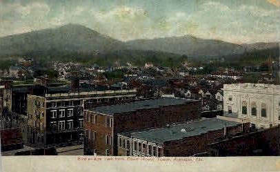 Court House Tower - Anniston, Alabama AL Postcard