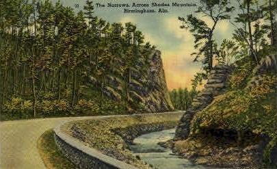 The Narrows - Birmingham, Alabama AL Postcard