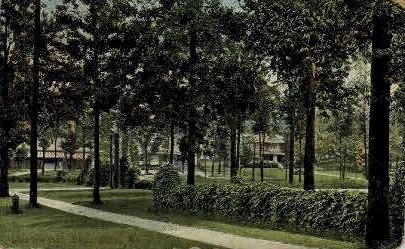 Glen Iris park - Birmingham, Alabama AL Postcard