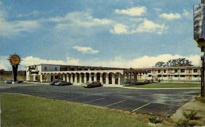 Carousel Motel - Dothan, Alabama AL Postcard
