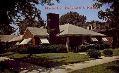 Mahalia Jackson's Home - Misc, Alabama AL Postcard