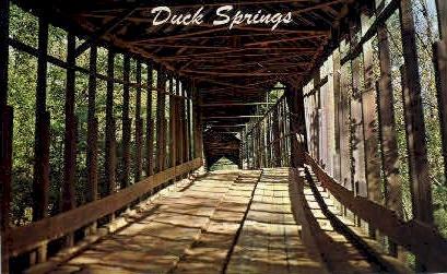 Duck Springs - Keener, Alabama AL Postcard