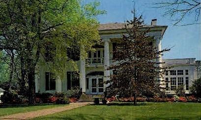 Southern Mansion - Misc, Alabama AL Postcard