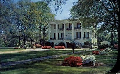 President's Mansion - University, Alabama AL Postcard