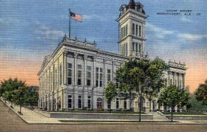 Court House - Montgomery, Alabama AL Postcard