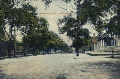 Court Street - Montgomery, Alabama AL Postcard