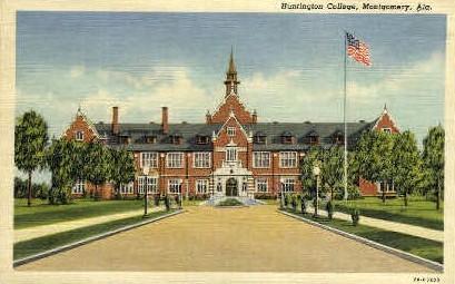 Huntington College - Montgomery, Alabama AL Postcard