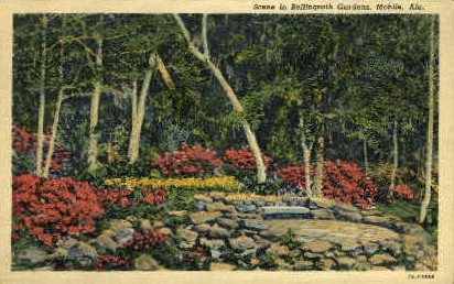 Bellingrath Gardens - Mobile, Alabama AL Postcard