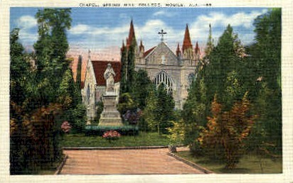 Spring Hill College - Mobile, Alabama AL Postcard