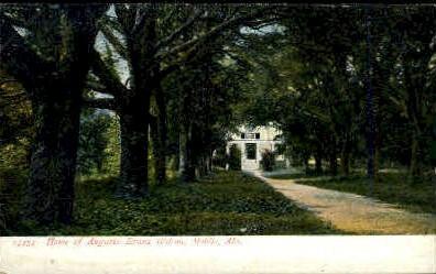 Augusta Evans Wilson Home  - Mobile, Alabama AL Postcard