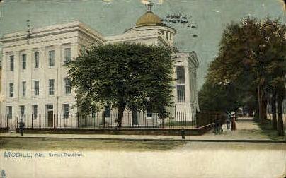 Barton Academy - Mobile, Alabama AL Postcard