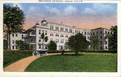 Providence Infirmary - Mobile, Alabama AL Postcard