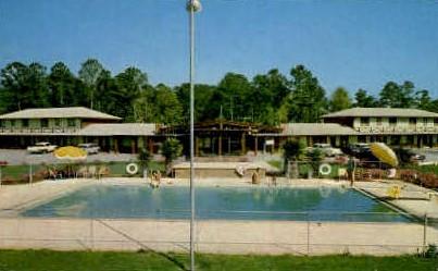Spanish Fort Motel - Mobile, Alabama AL Postcard
