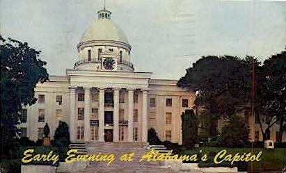 State Capitol - Montgomery, Alabama AL Postcard
