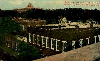 Marion   - Alabama AL Postcard
