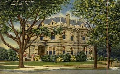 Governor's Mansion - Montgomery, Alabama AL Postcard