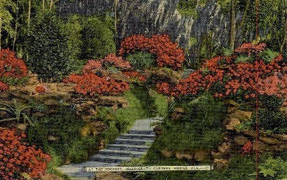 Bellingrath Gardens - Mobile, Alabama AL Postcard