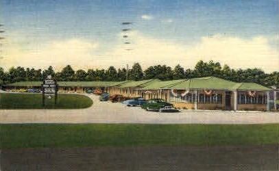 Winter Gardens Motor Hotel - Mobile, Alabama AL Postcard