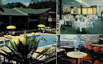 Town House Motor Hotel - Mobile, Alabama AL Postcard