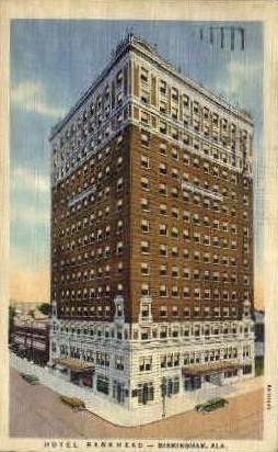 Hotel Bankhead - Birmingham, Alabama AL Postcard