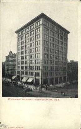 Woodward Building - Birmingham, Alabama AL Postcard