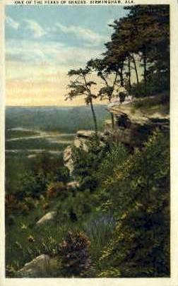 Peaks of the Shades - Birmingham, Alabama AL Postcard