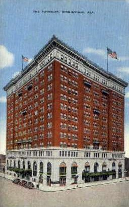 Tutwiler Hotel - Birmingham, Alabama AL Postcard