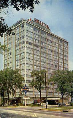 Sheraton Motor Inn - Birmingham, Alabama AL Postcard