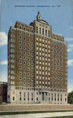 Jefferson Hospital - Birmingham, Alabama AL Postcard