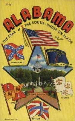 Misc, Alabama, AL Postcard