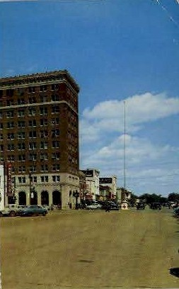 Broad Street - Tuscaloosa, Alabama AL Postcard