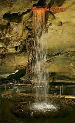Sequoyah Caves - Hammondville, Alabama AL Postcard