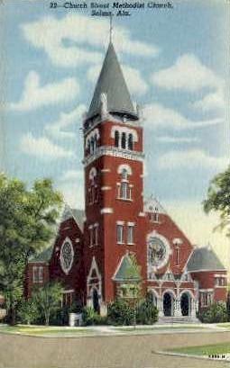 Selma, Alabama, AL Postcard