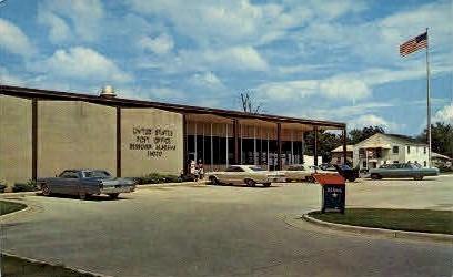 Post Office - Bessemer, Alabama AL Postcard