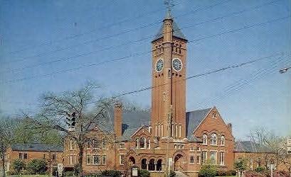 First Presbyterian Church - Selma, Alabama AL Postcard