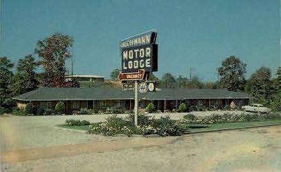Buchmann Motor Lodge - Fultondale, Alabama AL Postcard