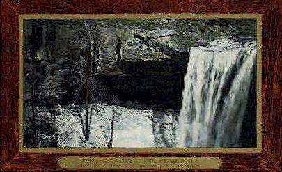 Noccalula Falls - Gadsden, Alabama AL Postcard